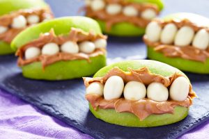 Healthy Apple Monster Mouths