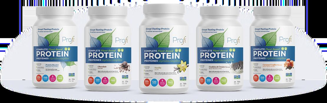 Profi product lineup